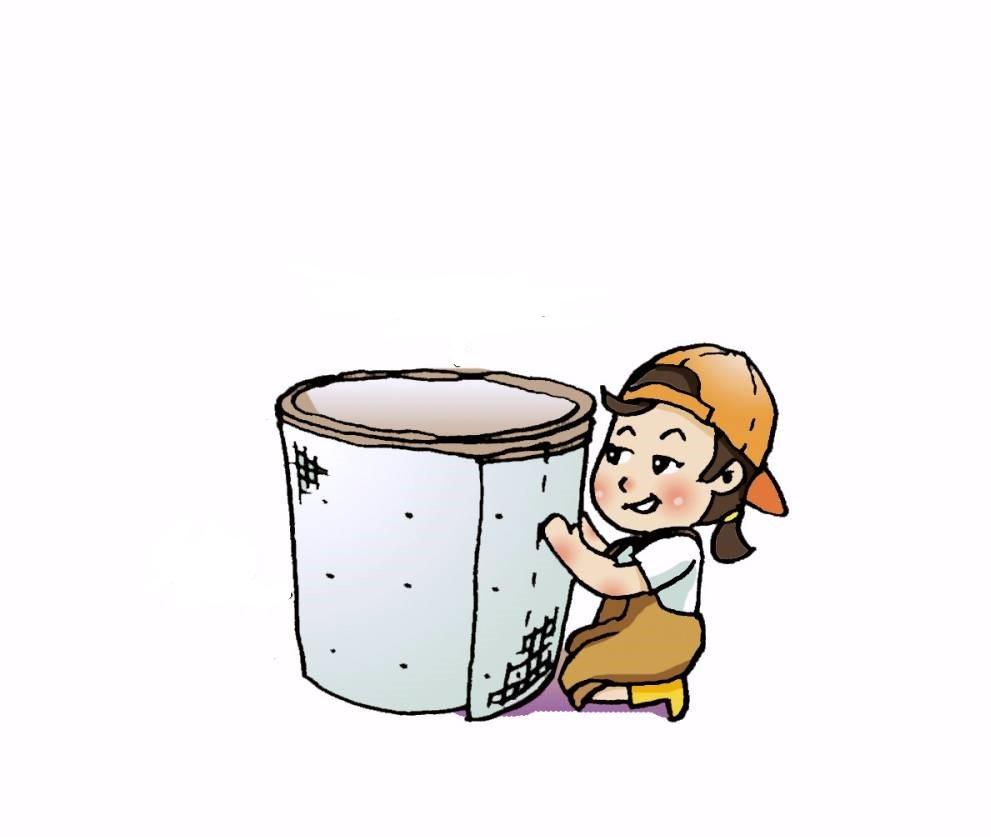 Chuẩn bị thùng chứa