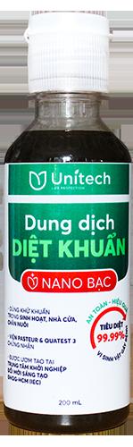 Nano bạc diệt khuẩn Unitech