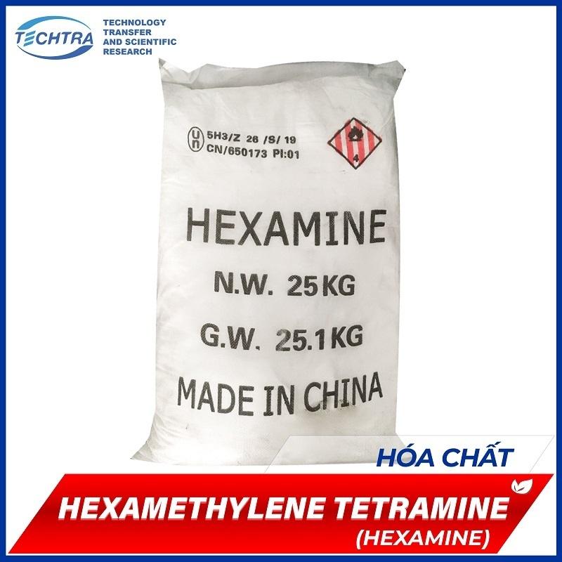 HEXAMETHYLENE TETRAMINE (Hexamine)   hoá chất kết dính nhựa Phenolic